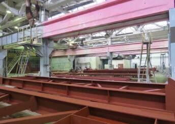 Покраска металлоконструкций на производстве. Доставка по ЦФО
