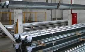 Производство профнастила на Заводе ограждающих конструкций