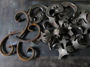 Декоративные изделия из металла для сада от ЗОК