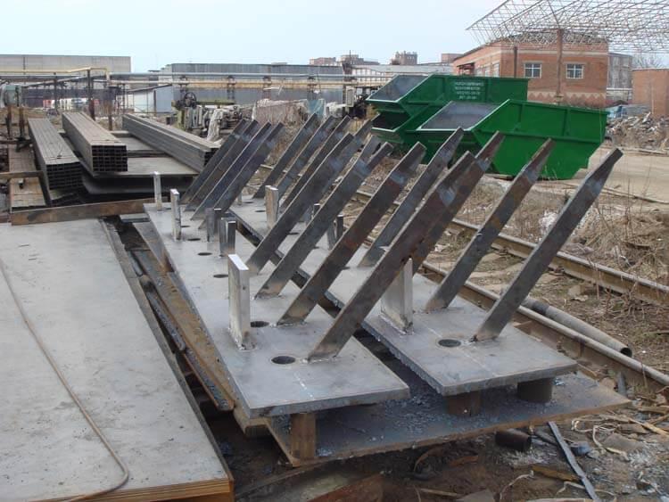 Закладные детали для железобетонных конструкций ООО ЗОК