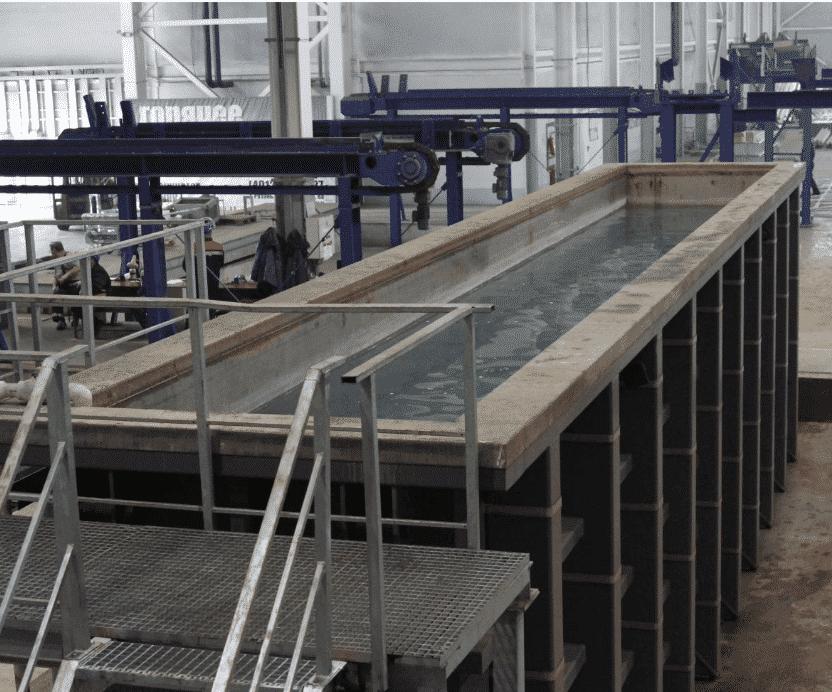 Промывка изделий процедуры цинкования - ЗОК