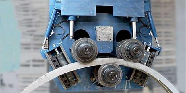 Вальцовка листового металла ЗОК
