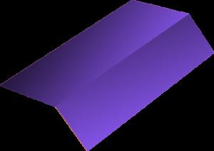 Внешний угол с цветным полимерным покрытием от ЗОК